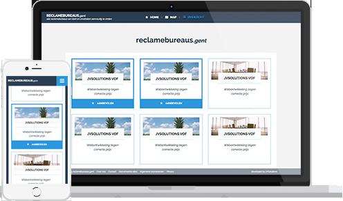 Overview lijst voorbeeld Reclame-adviesbureaus